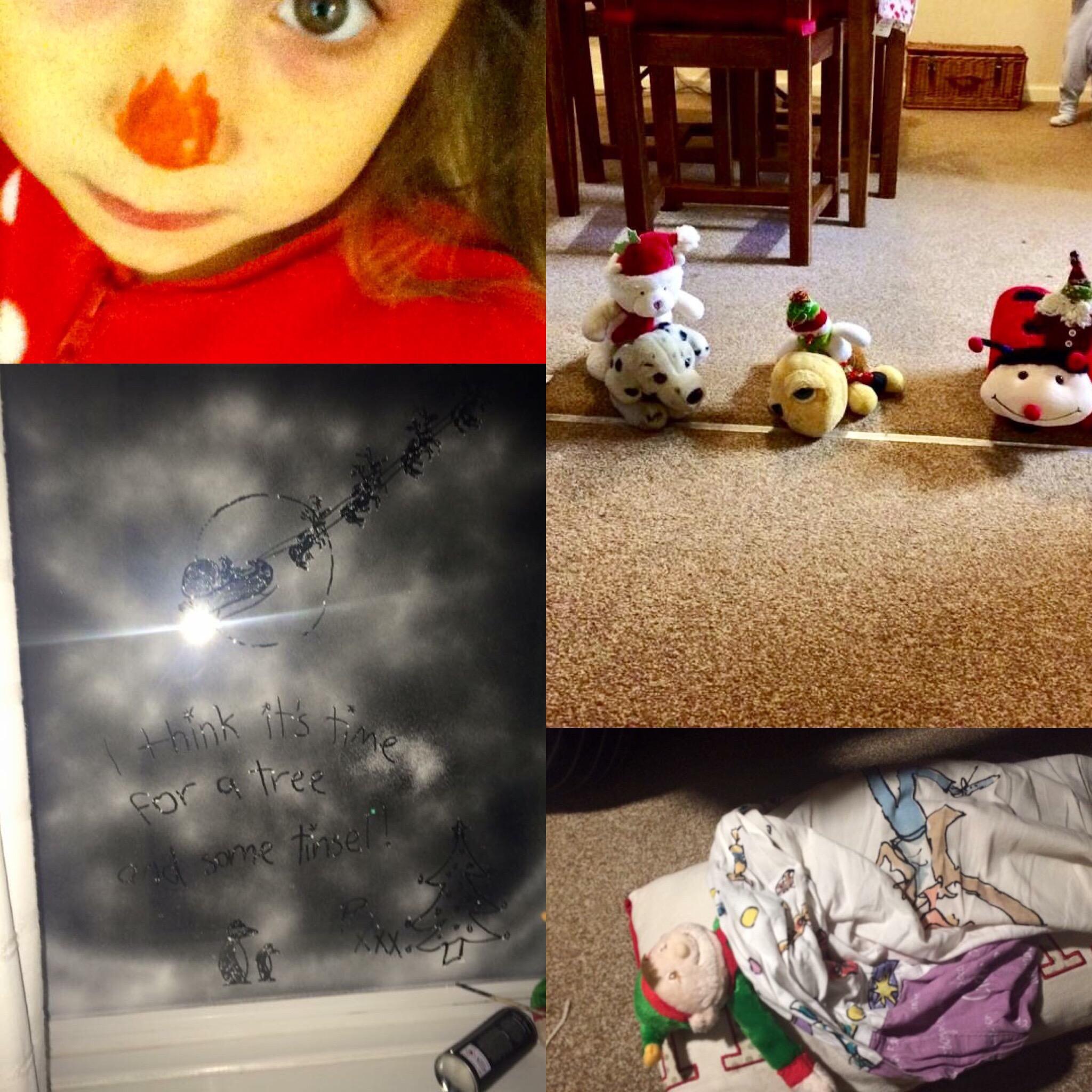 a selection of elf antics