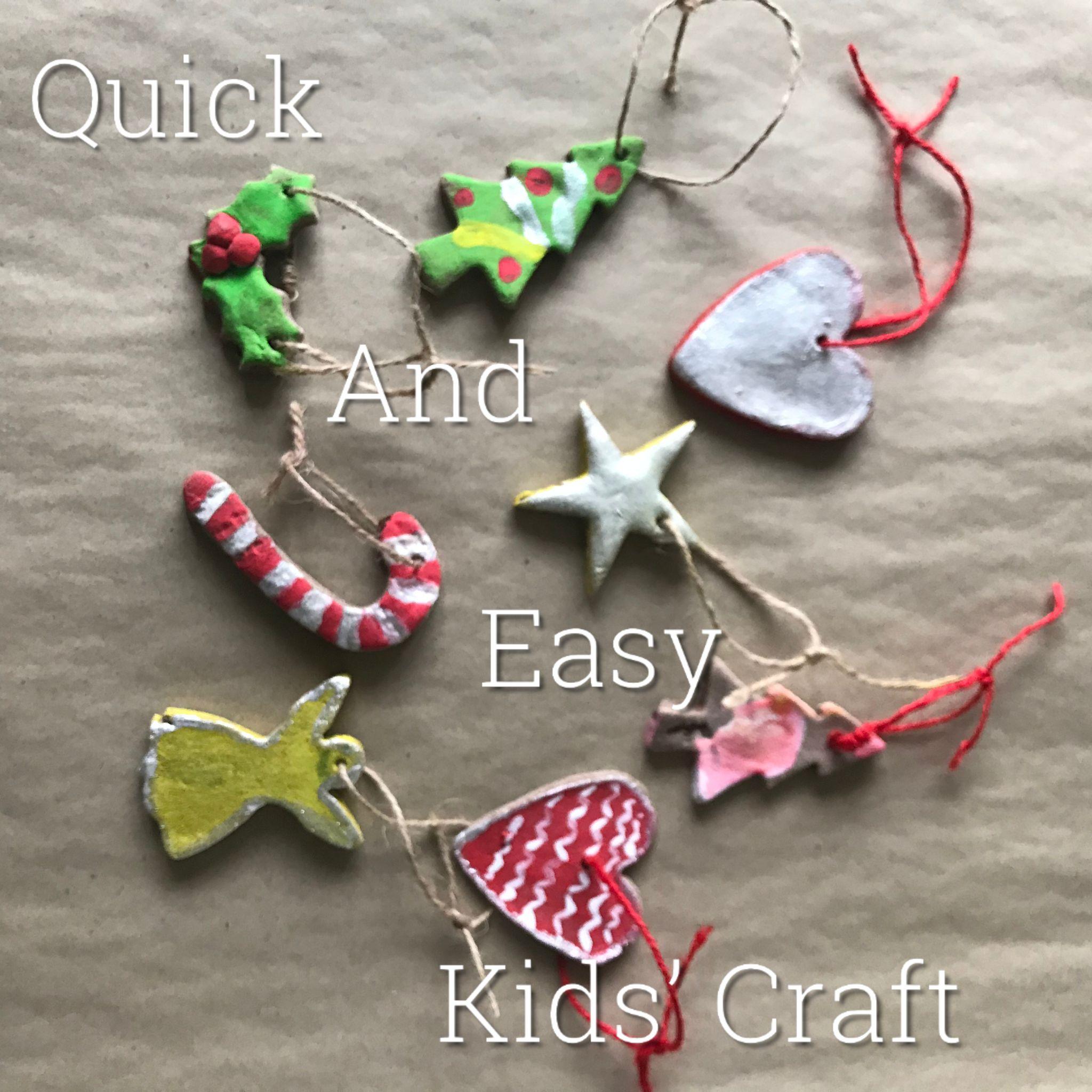 revsed Kids craft Title