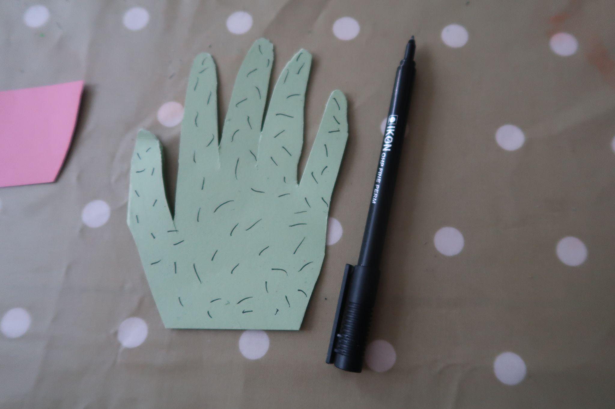Cacti handprint