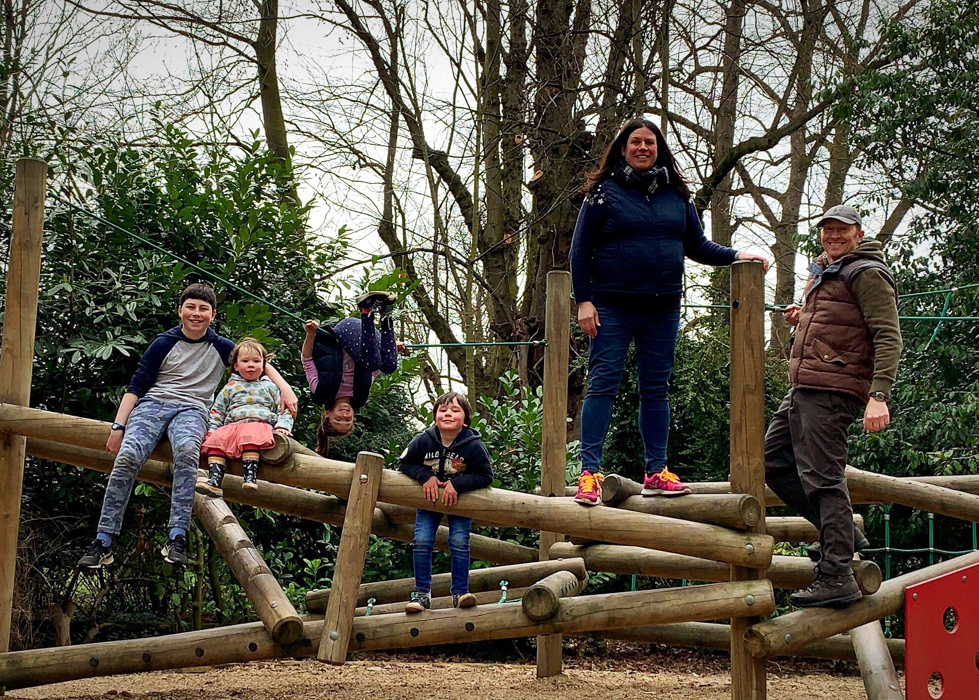 Things to do in Yorkshire at Easter -A family on a play park