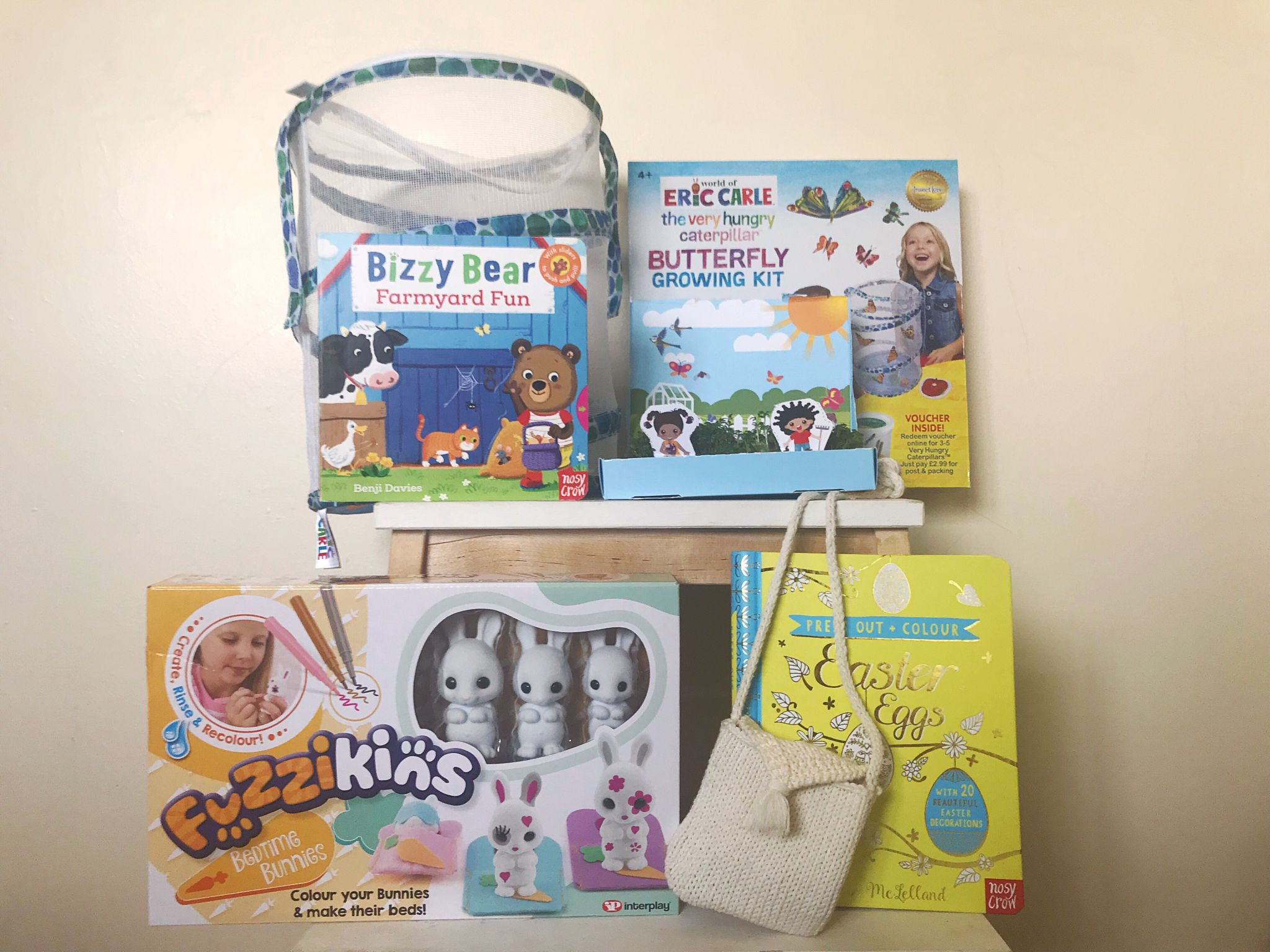 A picture of Kids craft kits and books