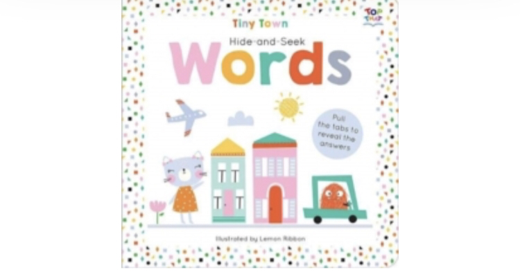a baby book called words