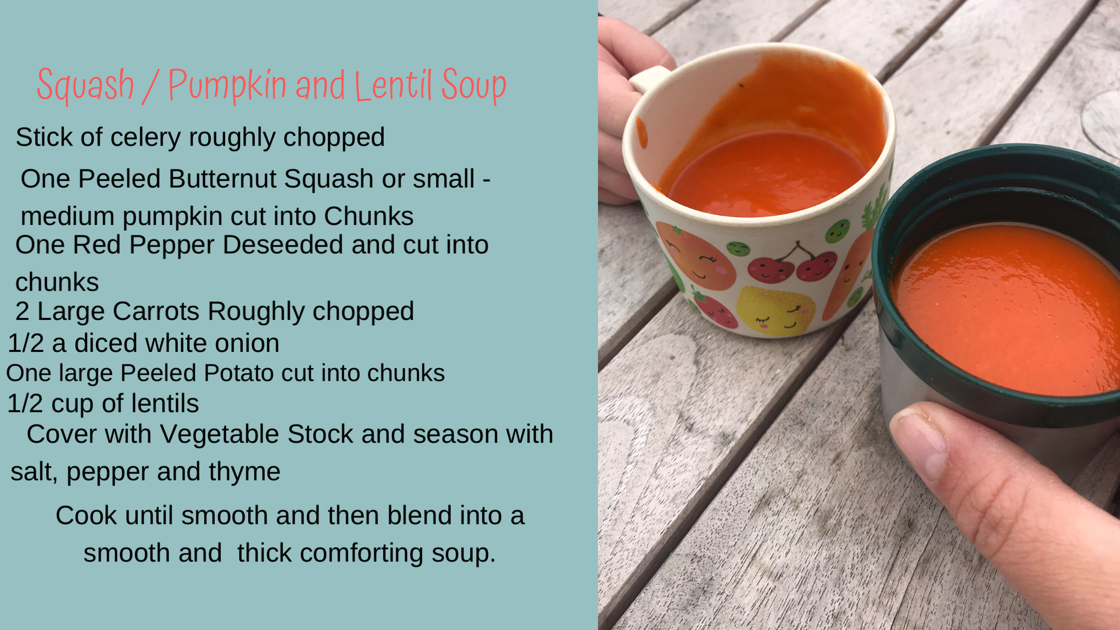 a recipe photo for soup