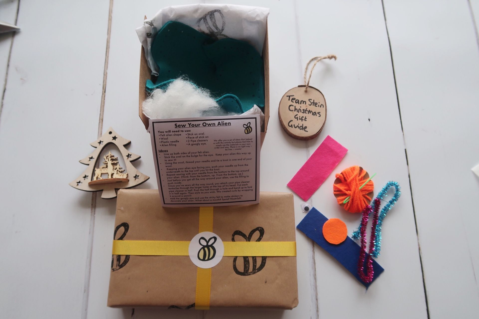 a craft box contents