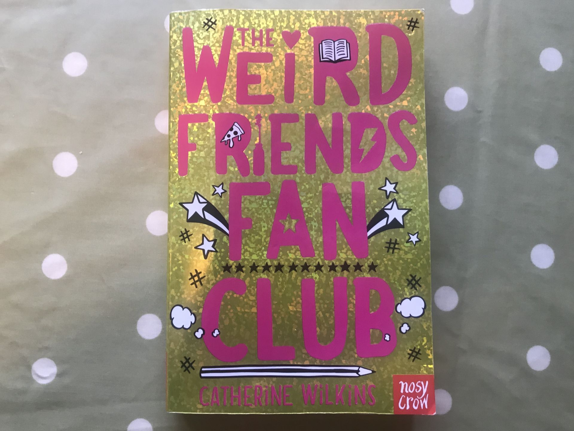 Weird friends fan club paperback