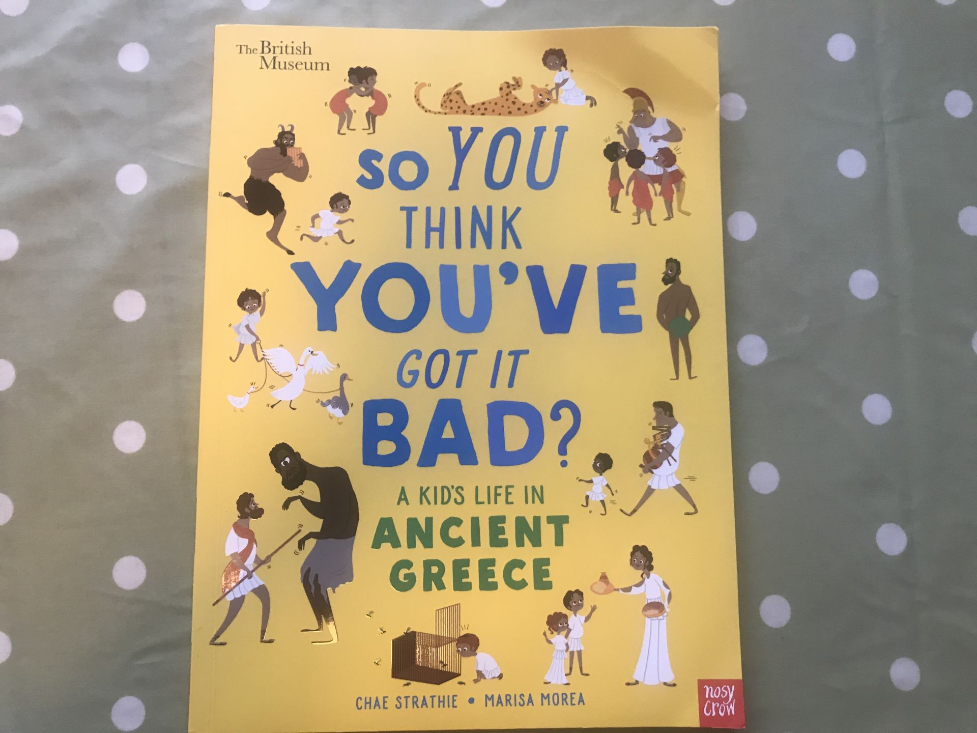 So you think you've got it bad book