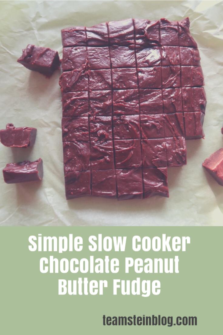 chocolate peanut butter fudge pinterest picture