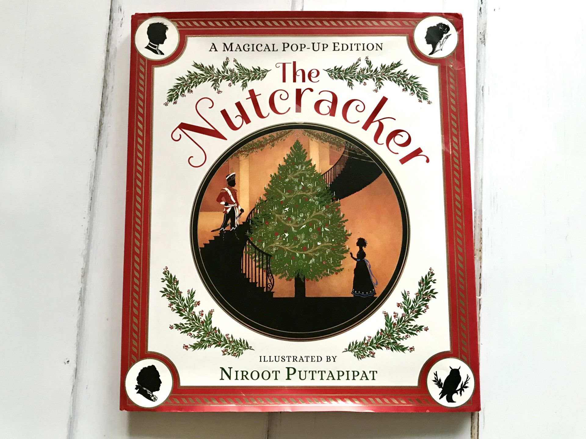 a Christmas storybook called The nutcracker