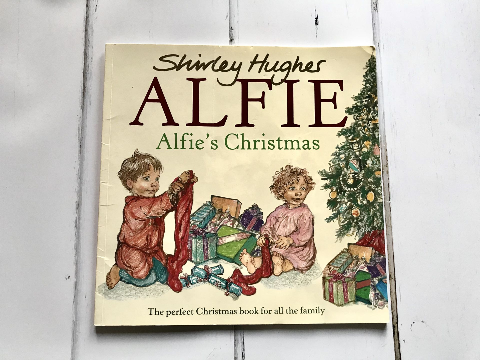 A Christmas storybook called Alfie's last Christmas