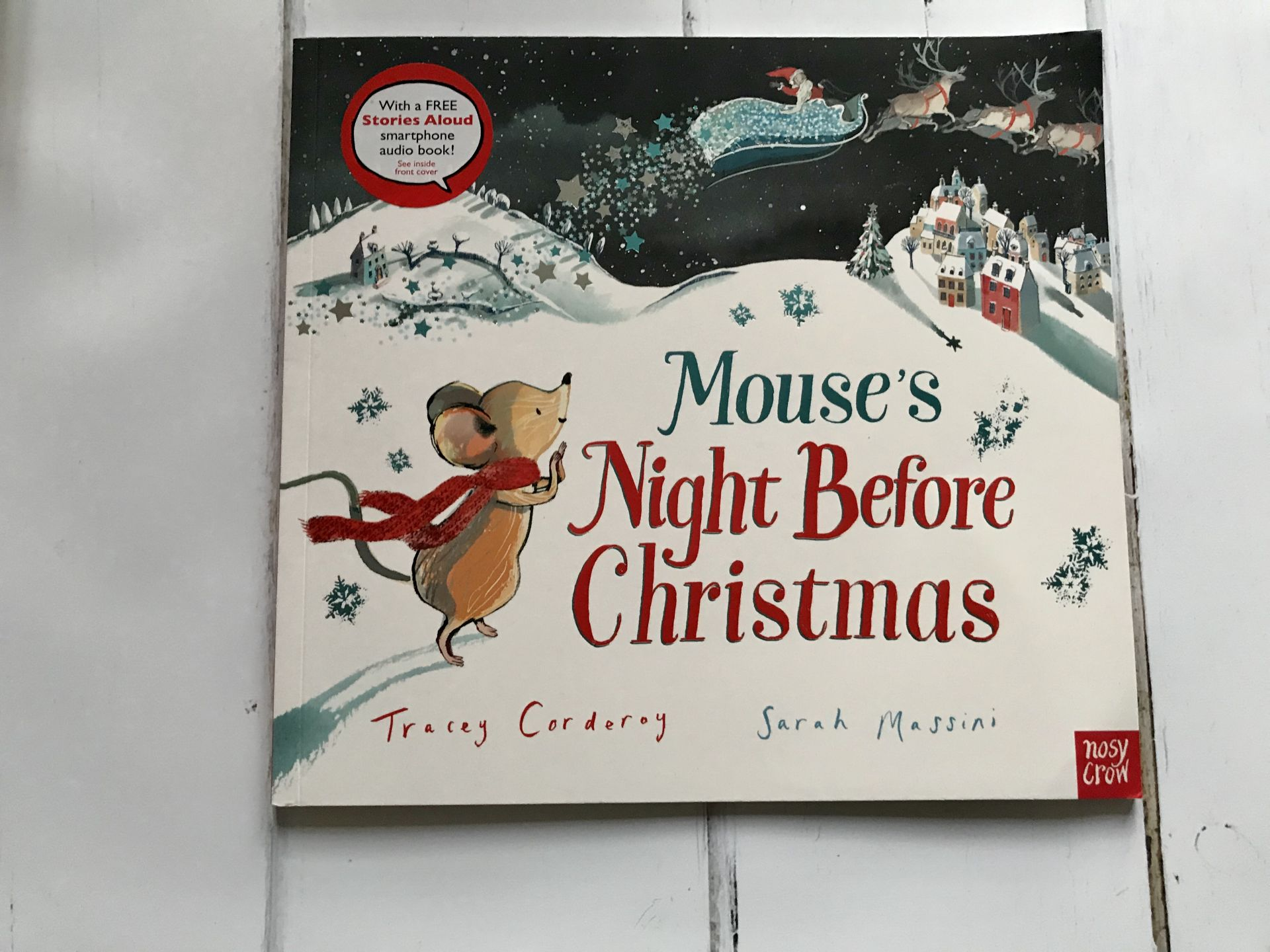 A Christmas story book called Mouse's Night before Christmas