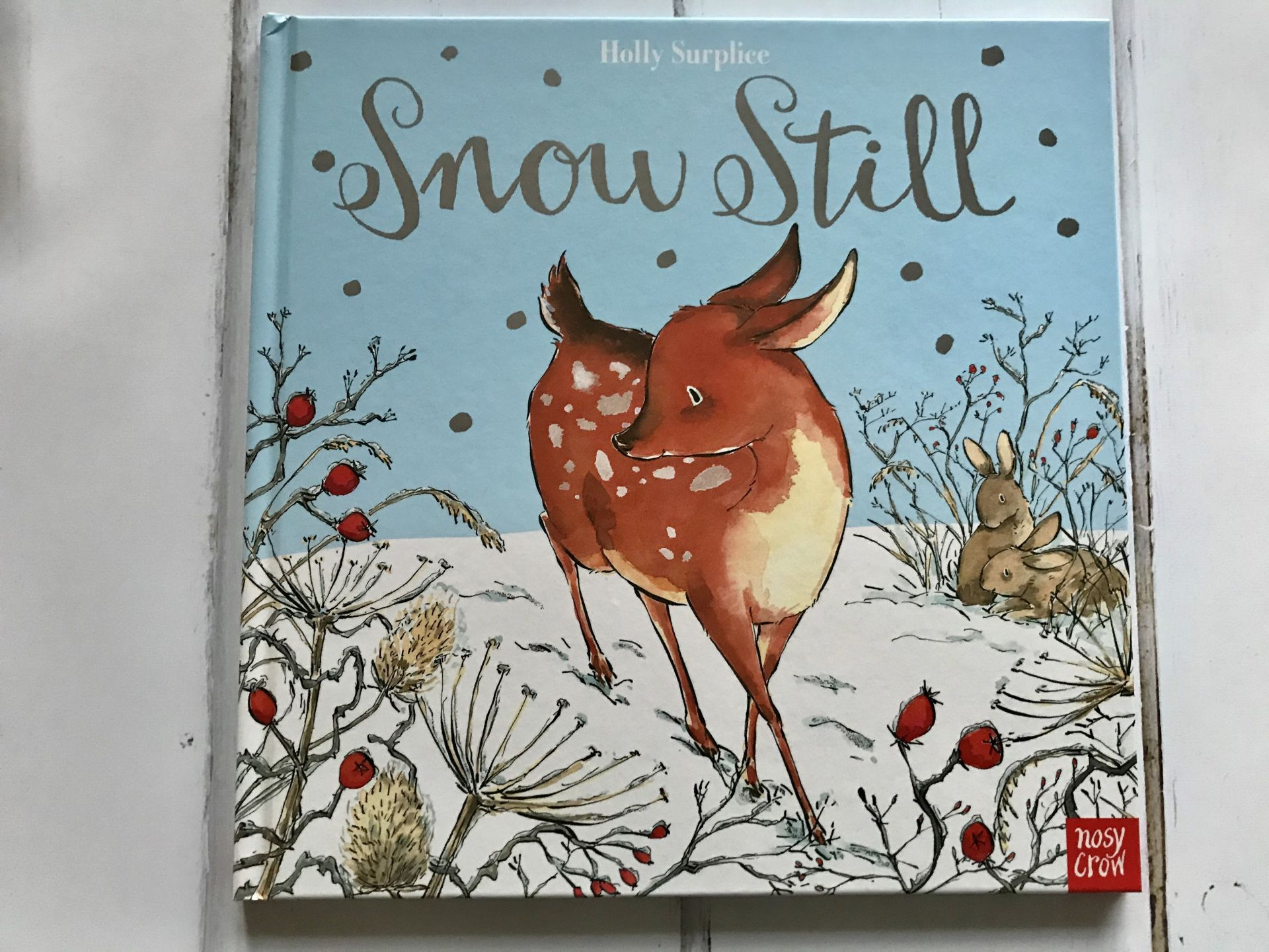 A Christmas storybook called snow still