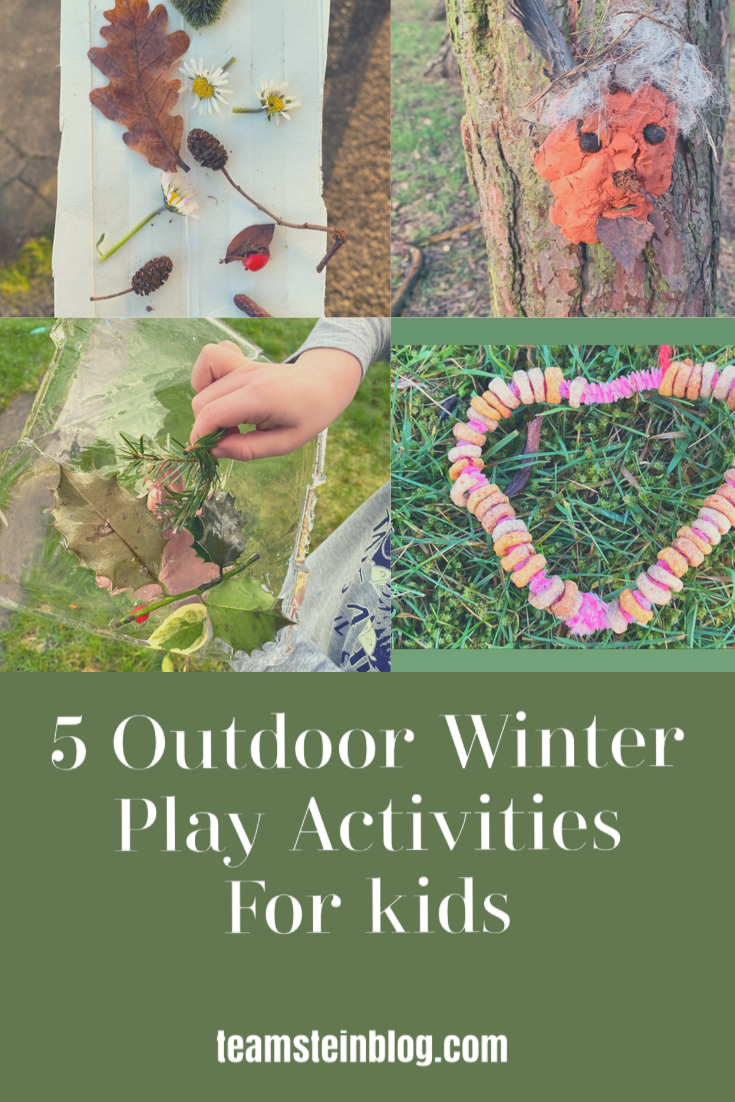 Winter Outdoor Play Activities for Kids