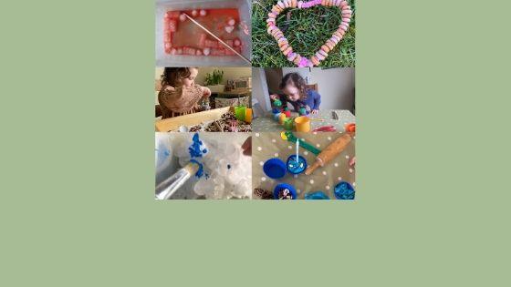 Easy indoor activities for preschoolers at home blog banner