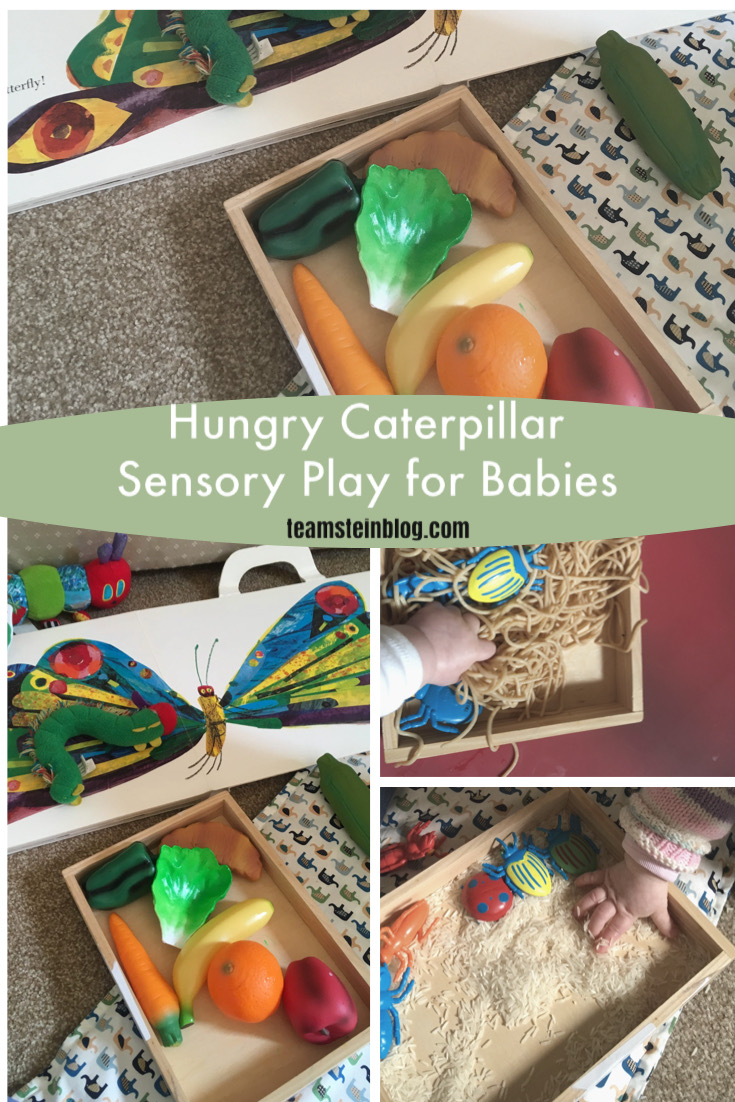 Hungry Caterpillar Sensory Play for Babies and Toddlers