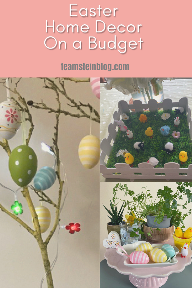 Easter Home decor on a budget