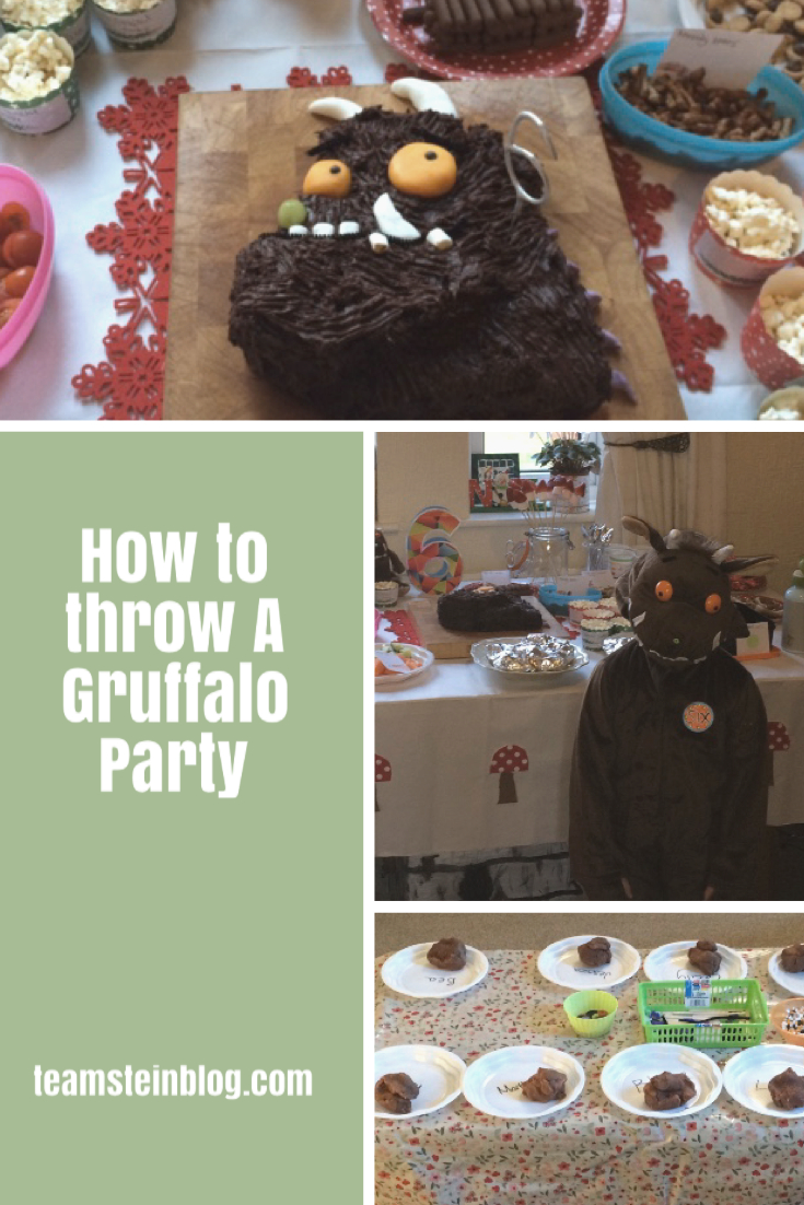 How to throw a Gruffalo party