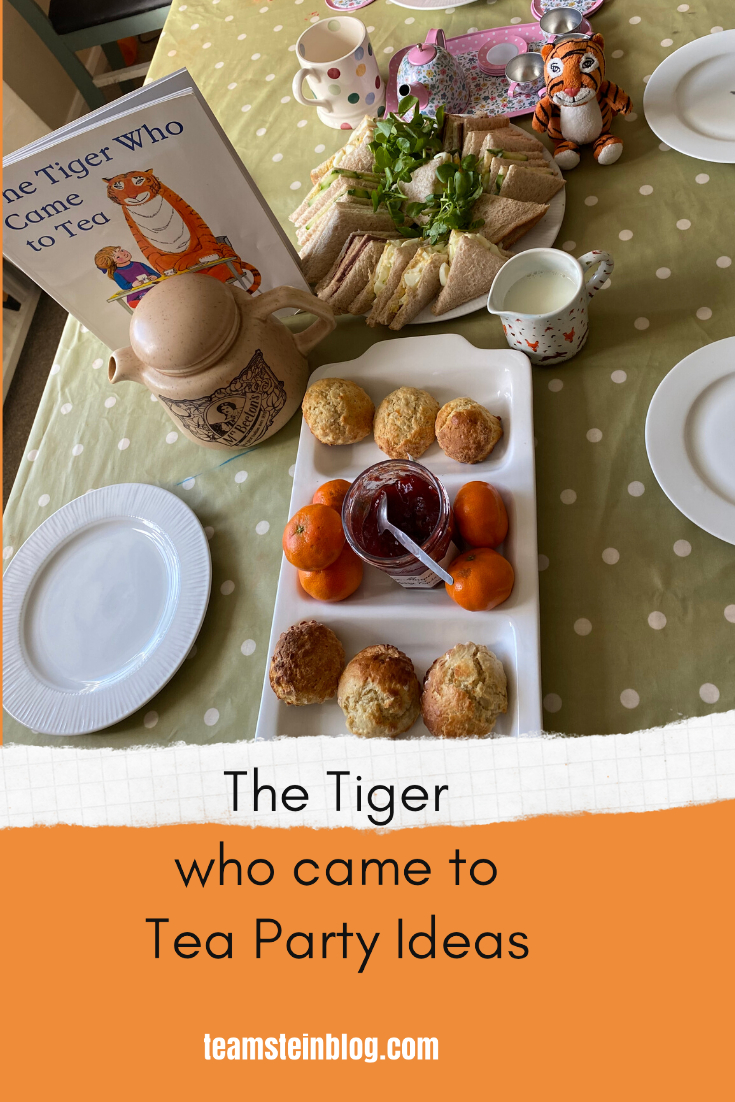 The Tiger who came to Tea Party  Ideas