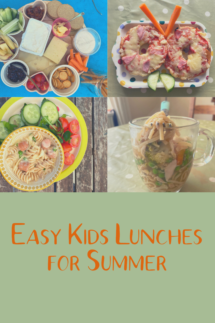 Easy kids lunches for Summer