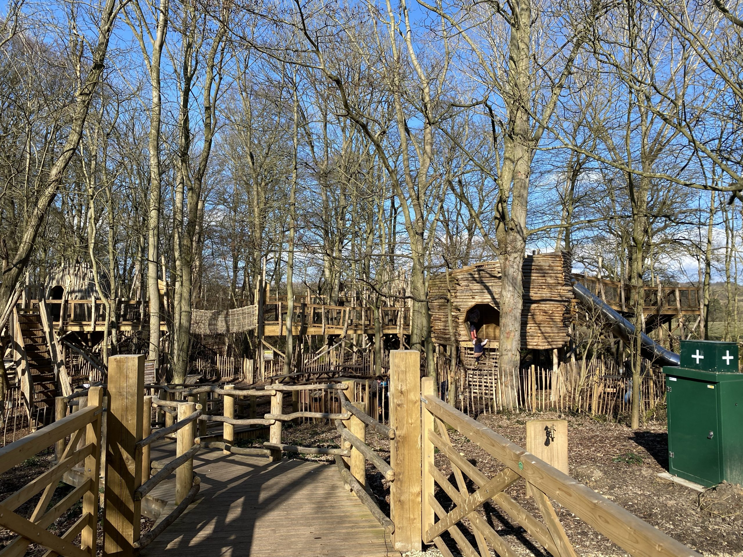 Visiting Castle Howard Skelf Island Adventure playground